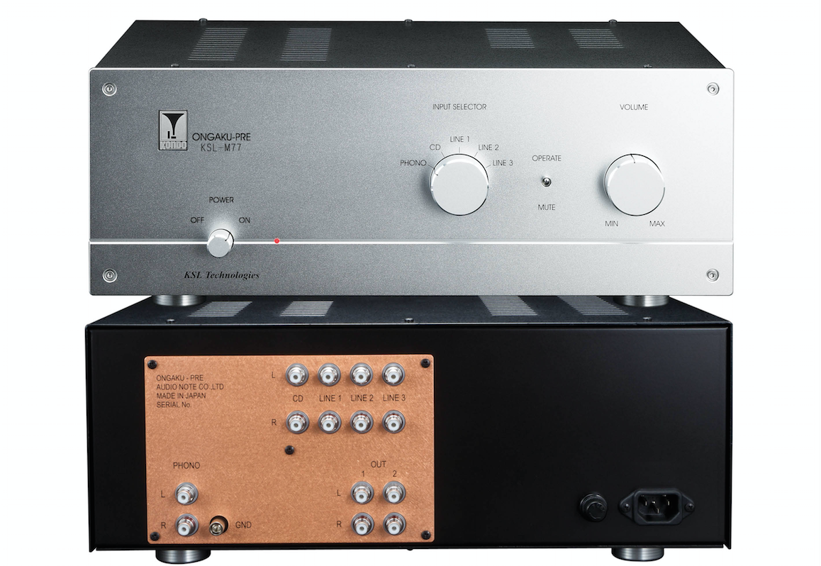Editor's Choice 2015: Preamp - Audio Note Kondo KSL-M77