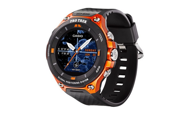 Casio Smartwatch Pro Trek mới chạy Android Wear 2.0