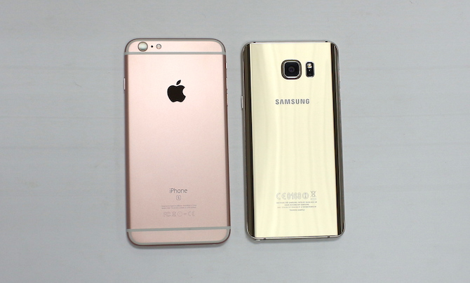 So sánh iPhone 6S Plus và Galaxy Note 5 ảnh 10