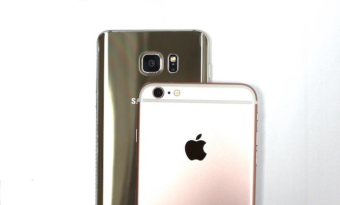 So sánh iPhone 6S Plus và Galaxy Note 5 ảnh 11