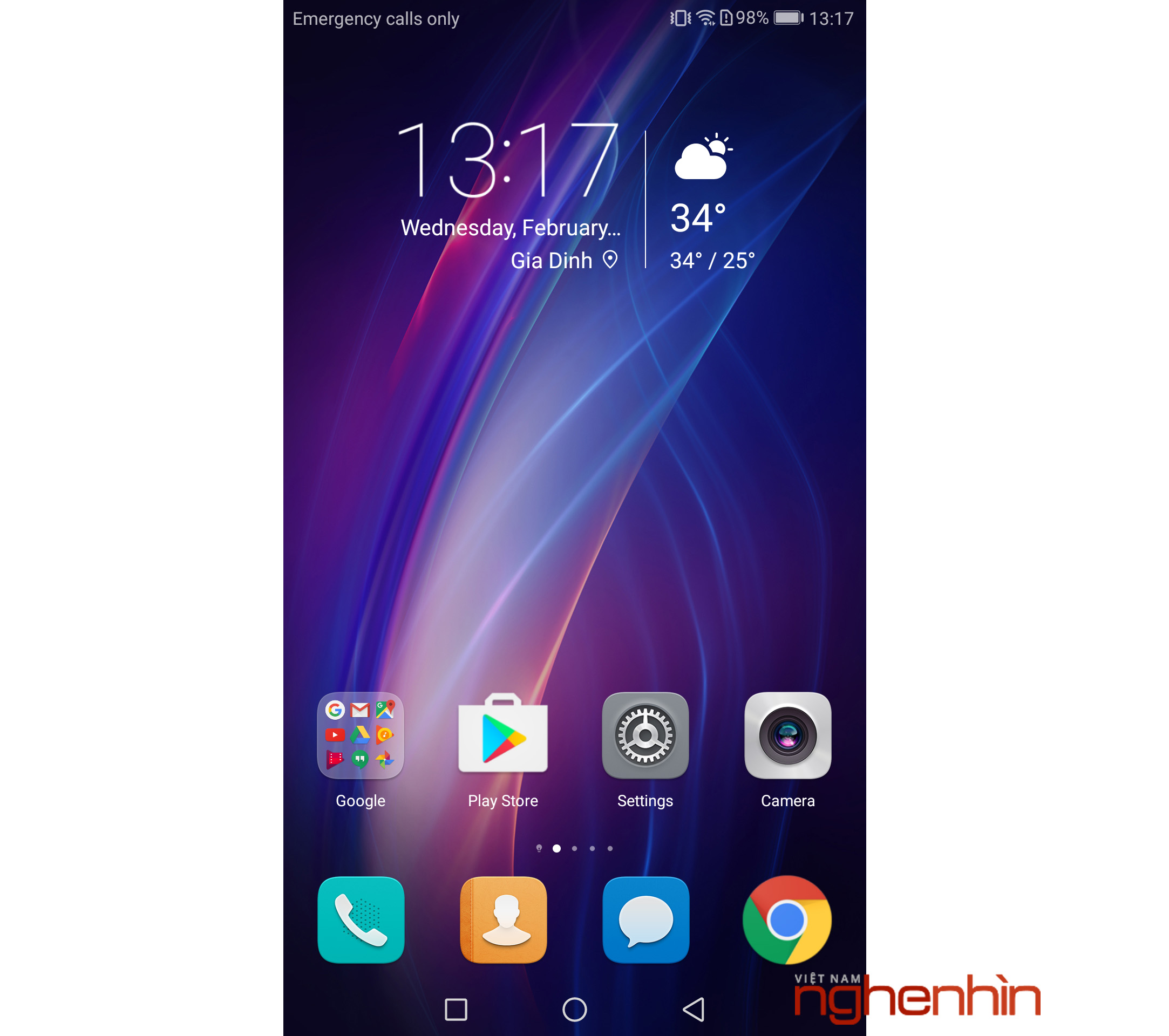 Android 7.0 On Huawei GR5 2017