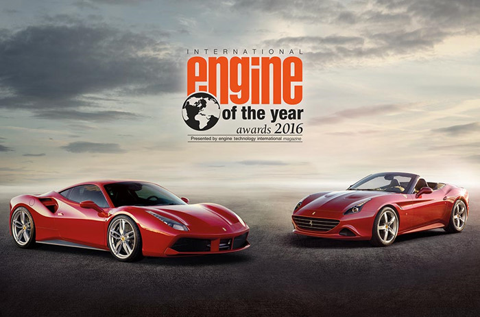 "Động cơ Ferrari V8 Turbo đạt giải ""International Engine of the Year 2016"" - ảnh 1"